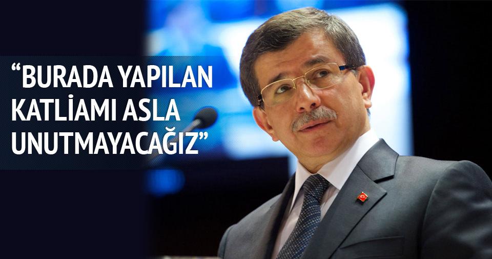 Davutoğlu: Bosna- Hersek'te olanı asla unutmamalıyız