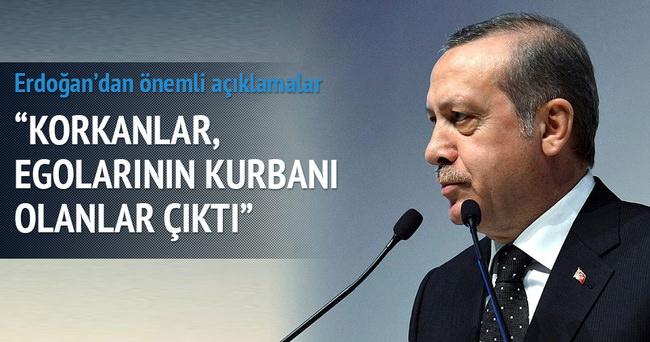 Cumhurbaşkanı Erdoğan: Kuru sıkı atmayla bu işler olmuyor