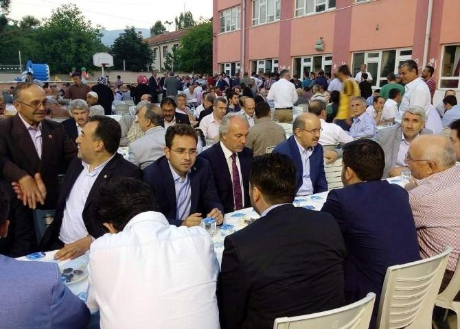 Başdanışman Hüseyin Çelik, Kütahya Belediyesi'nin İftarına Katıldı