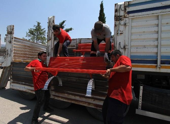 Karşıyaka'dan Anadolu'ya Dostluk Eli Uzandı