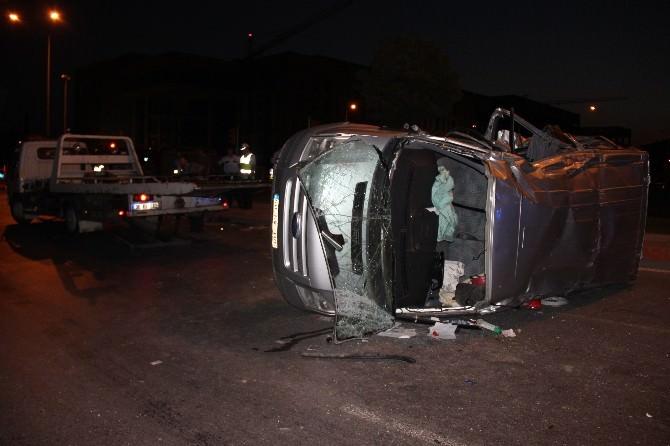 Trafik Kazası: 5 Ağır Yaralı