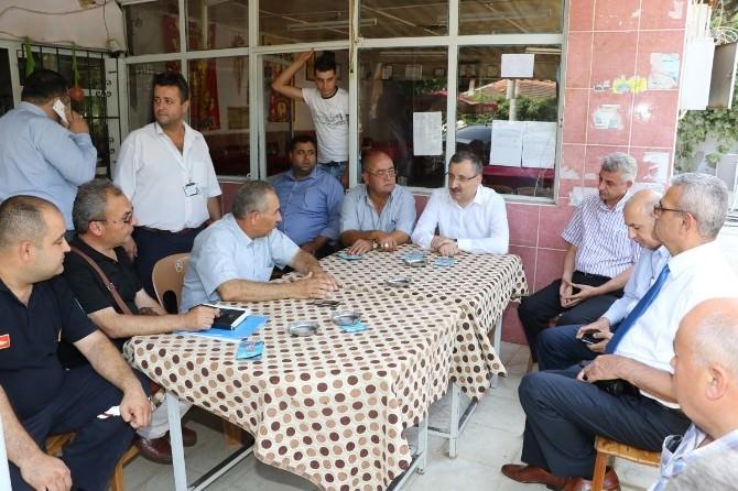 Büyükşehir Belediyesi'nden Sarıpınar'a Hizmet Sözü