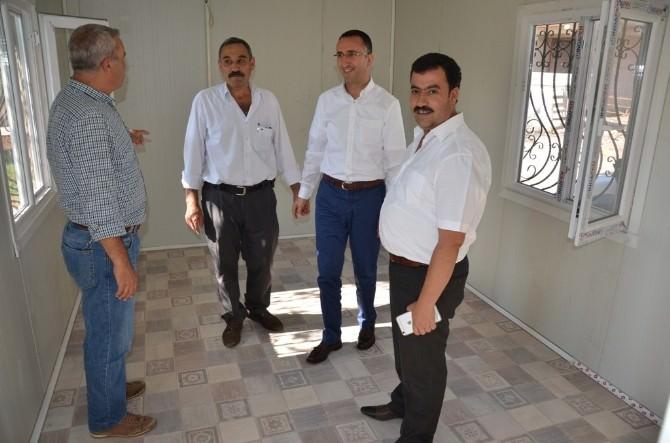 Siverek'te 'Muhtar Evleri' Yapılmaya Başlandı
