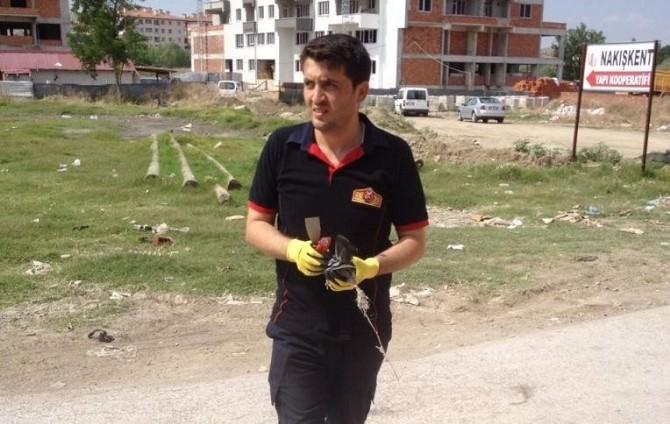 Sungurlu'da Güvercin Kurtarma Operasyonu