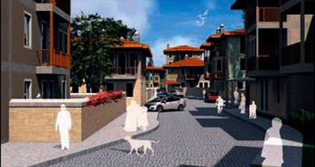 İznik'e 'mahalle' konseptli 165 konut