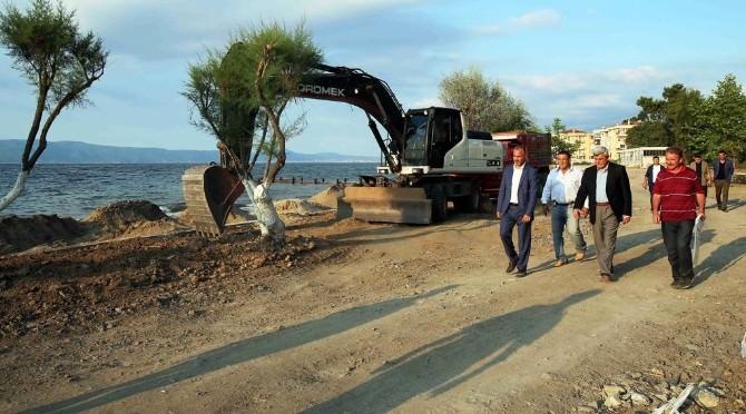 Karaosmanoğlu, Dereköy Sahili Karamürsel'e Çok Yakışacak