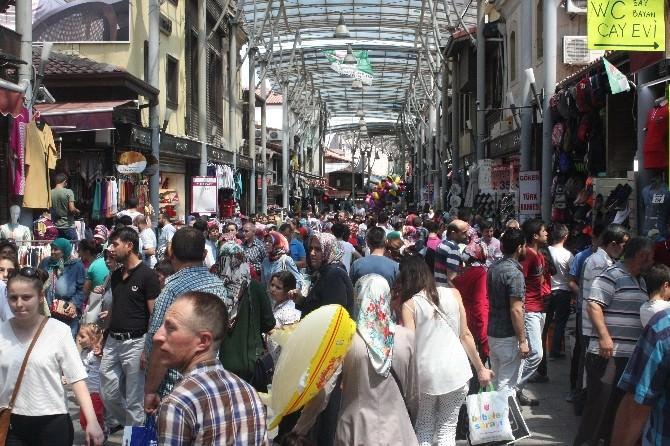 Bursalılar Bayram Alışverişinde