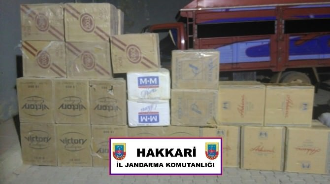 Hakkari'de Kaçakçılık Operasyonu