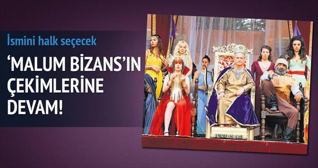 'Malum Bizans' filminin çekimlerine devam!