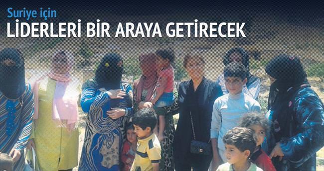Suriyeli mülteci için Arap liderler gecesi