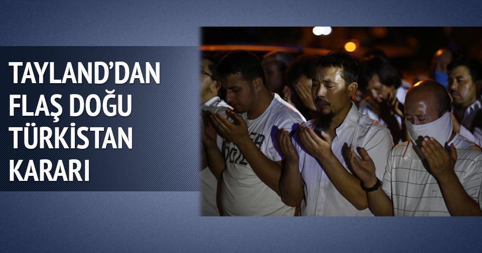 Tayland Uygurlar için karar verdi