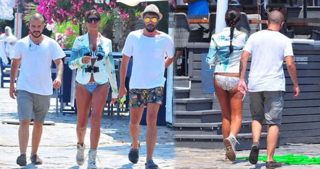 Süreyya Yalçın'ın plaj modası