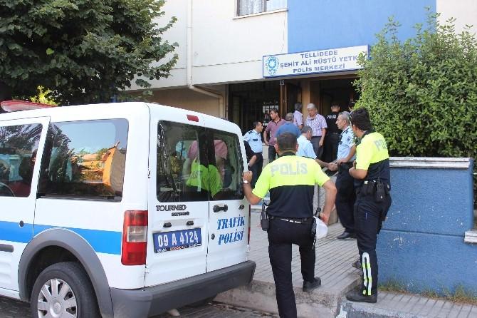 Aydın'da Polis Şamar Oğlanına Döndü