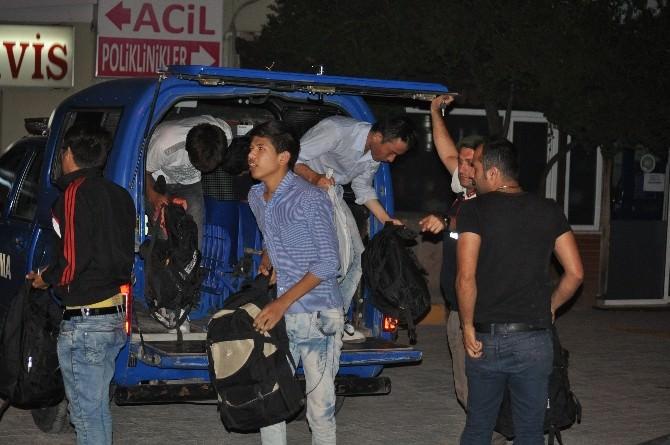 Ege Denizi'nde 49 Kaçak Yakalandı
