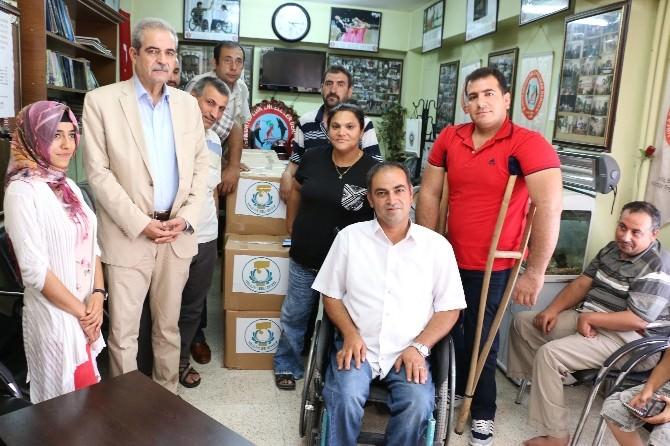 Haliliye Belediyesi'nden Engellilere Yardım