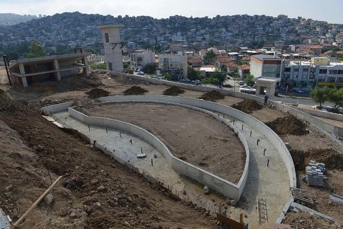 75. Yıl Türk Dünyası Parkı'daki Çalışmalarda Sona Doğru