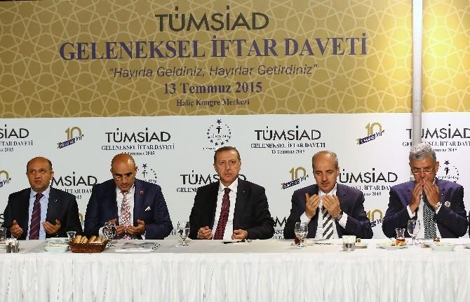 Cumhurbaşkanı Erdoğan, TÜMSİAD'ın İftarına Katıldı