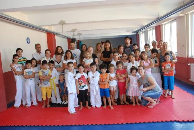 Didim'de Yaz Döneminde Tekvando Sporuna Büyük İlgi