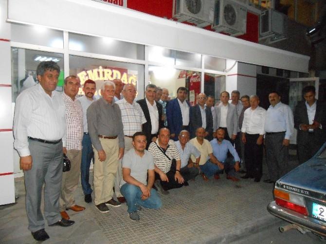 MHP Milletvekili İzzet Yönter Emirdağlılarla İftar Yaptı