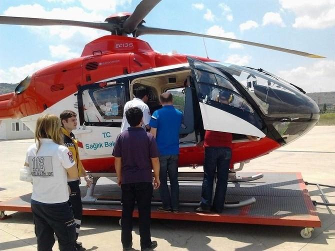 Hava Ambulansı 10 Günlük Bebek İçin Havalandı