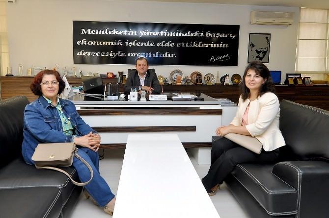 Onko-sav'dan Çorum TSO'ya Ziyaret