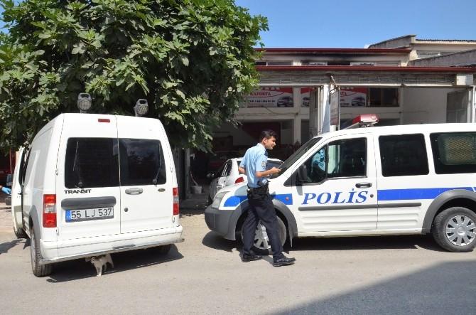 Bafra'da 3 Kişi Hırsızlık Suçundan Gözaltına Alındı