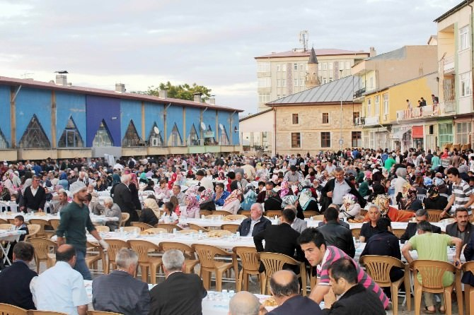 Suşehri'nde 'Gönül Sofrası' İftar Yemeği Programı Yapıldı