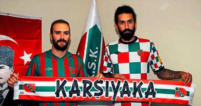 Karşıyaka'da iki imza