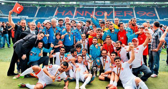 11 lira harcırahla Avrupa Şampiyonu