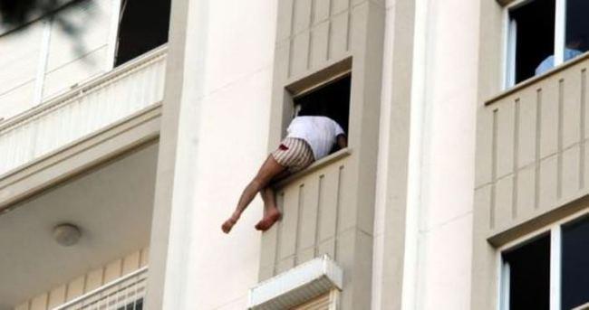 11. katta korku dolu anlar!