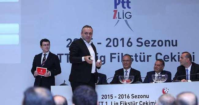PTT 1. Lig'de fikstür çekildi