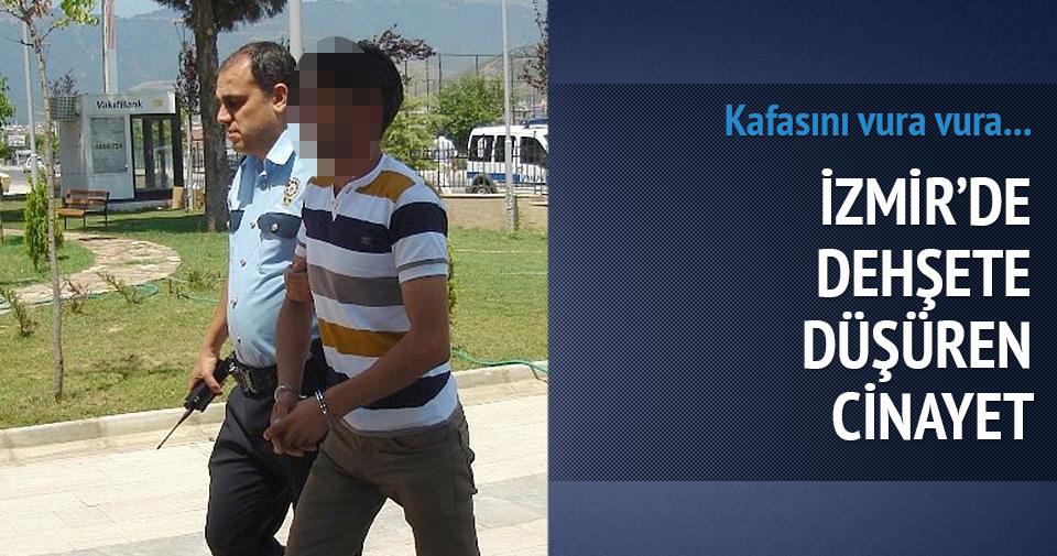 İzmir'de genç kadın kafasına vurularak öldürüldü