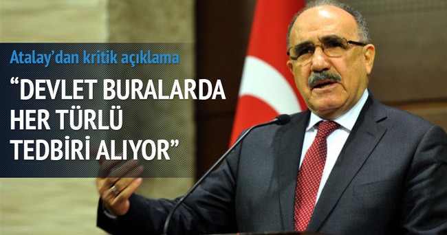 Atalay'dan koalisyon görüşmesi yorumu