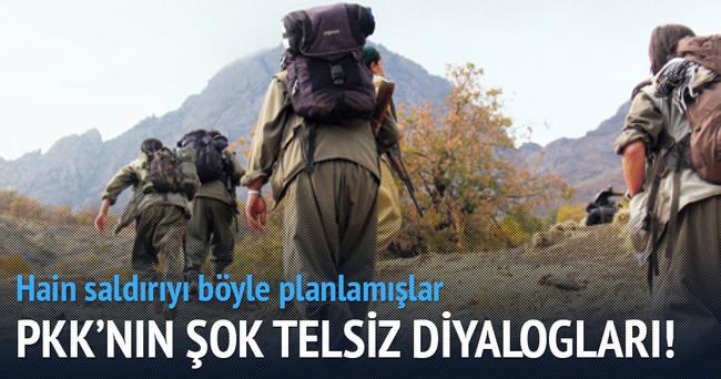 PKK'lı teröristlerin şok telsiz diyalogları!