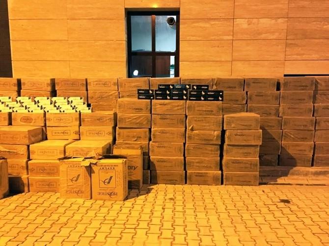 Adilcevaz'da Kaçak Sigara Operasyonu