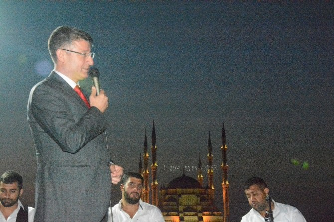 AK Parti'den Tarihi Köprüde İftar