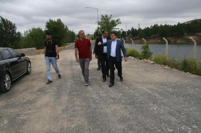 Yozgat Çamlık Milli Parkı'nın Yolu Tamamlandı