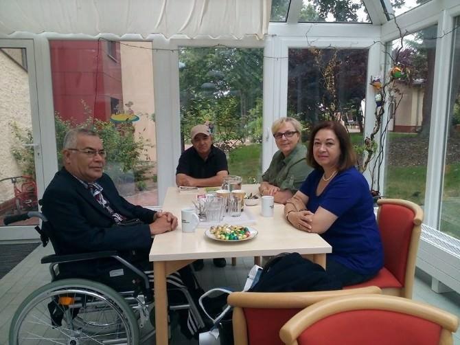 Bozüyük Engelliler Derneği Başkanı Çelik'in Berlin Ziyareti