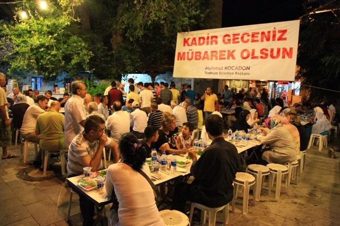 Bodrum'da 35 Yıllık Sahur Geleneği