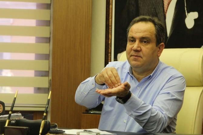 Giresun Belediye Başkanı Kerim Aksu, Basın Toplantısı Düzenledi