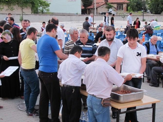 Hisarcık Belediyesi'nin Mahalle İftarları