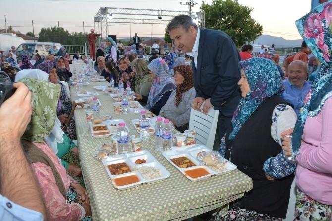 Başkan Çerçi Osmancalı'da Sevgiyle Karşılandı