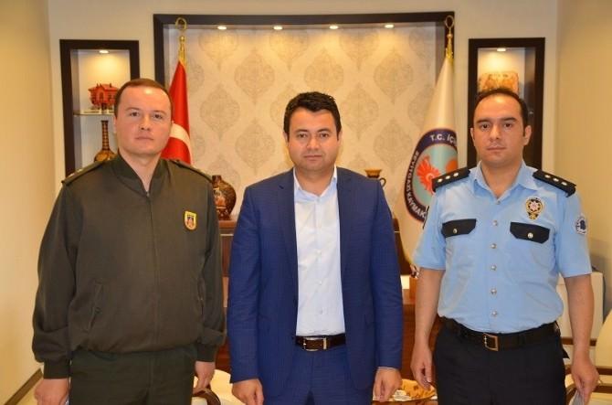 Kaymakam Avcı'dan Emniyet Ve Jandarma Teşkilatına Başarı Belgesi