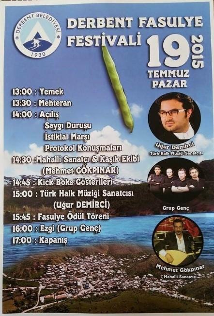 Derbent'te Fasulye Festivali Yapılacak