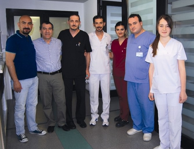 Prof. Dr. Cebrail Aliekberov Özel Adatıp Hastanesi'ni Ziyaret Etti