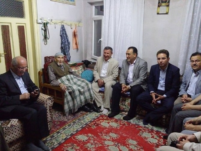 Abdullah Amca'ya Ziyaret