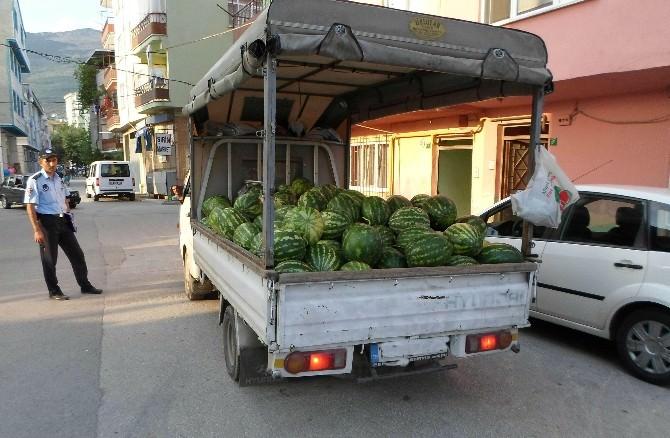 Zabıta'dan Seyyar Esnafa SES Ayarı