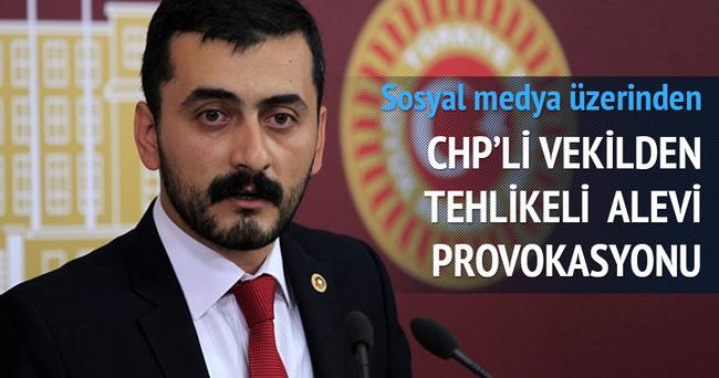 CHP'li vekilden çok tehlikeli alevi provokasyonu