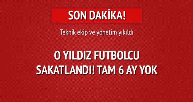 Beşiktaş sakatlık şoku! 6 ay yok!
