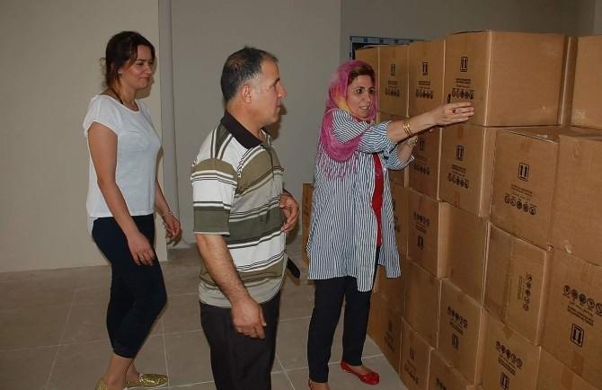 Adıyaman'da, 3 Bin 750 Paket Yardım Kolisi Dağıtıldı